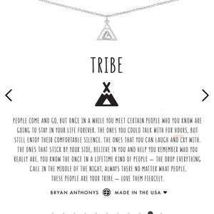 BNWT Bryan Anthony 18' gold Tribe Necklace